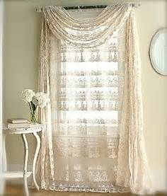 Ways To Tie Curtains Shabby Chic Curtains And Window Dressing Ideas The