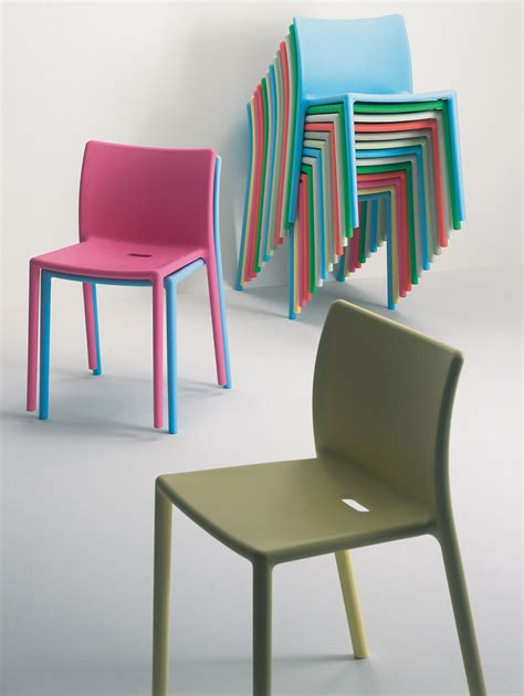 Air Chair by Air Chair Stackable Chair Polypropylene White By Magis