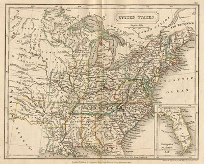 map of the united states in 1840 1840 map of the united states thefreebiedepot