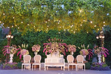 Towers Garden Wedding Decoration by Sheraton Bandung Hotel