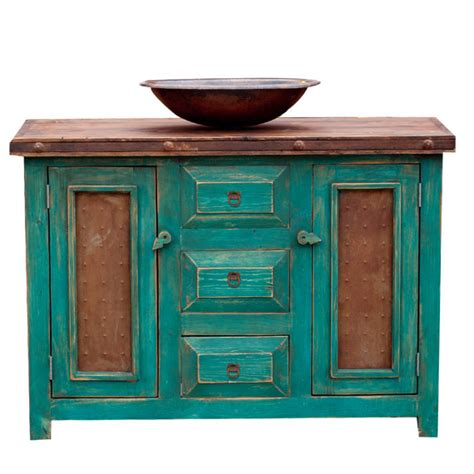 custom bathroom vanities turquoise 15514