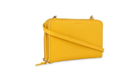 union zip crossbody bag yellow multi whistles