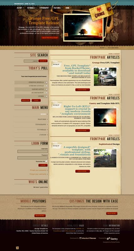 themes joomla gratuit template cms joomla template cms