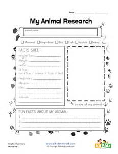 animal research for template animal research graphic organizer all network