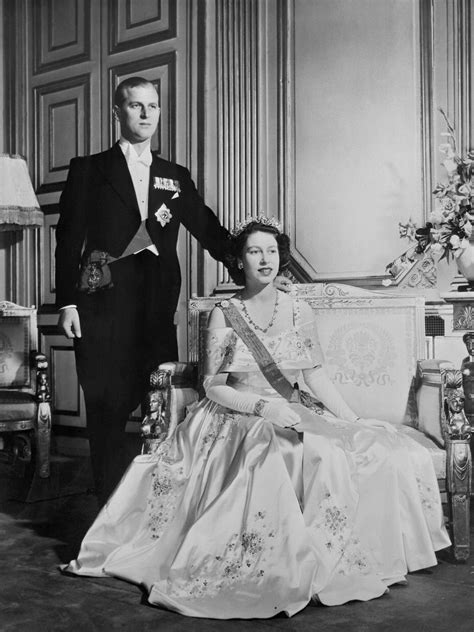 Queen Elizabeth and Prince Philip celebrate 66 years of