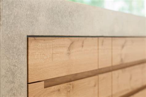 Esstisch Beton Holz 715 by K 252 Che Beton Eiche W Detail Modern K 252 Che M 252 Nchen