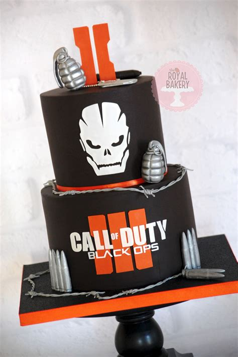 Call Of Duty Black Ops Iii Cake Cakecentral M
