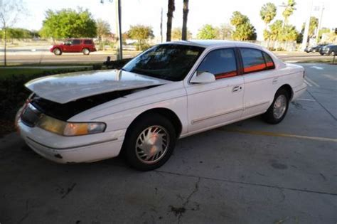 automotive air conditioning repair 1996 lincoln continental head up display sell used 1996 lincoln continental runs flmele96 in ta florida united states