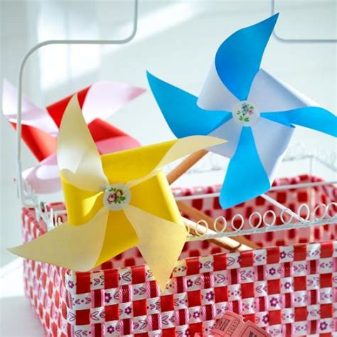 Make A Paper Windmill - how to make a paper windmill easy step by step