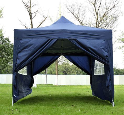 4 5x3m garden gazebo heavy duty pop up marquee tent
