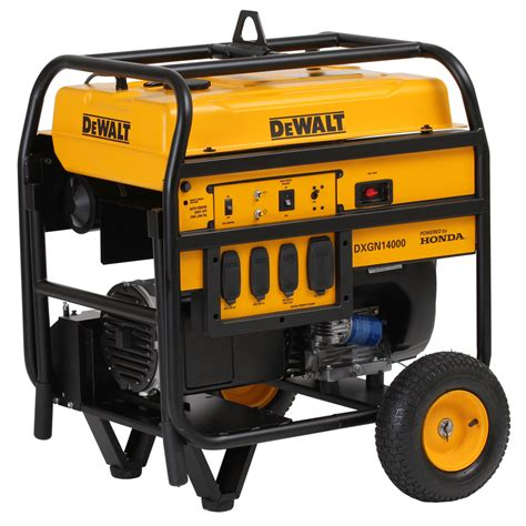 shop dewalt 11 700 running watt portable generator with