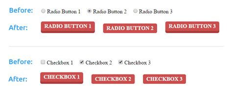 css layout radio buttons how to customize radio buttons and checkboxes with css