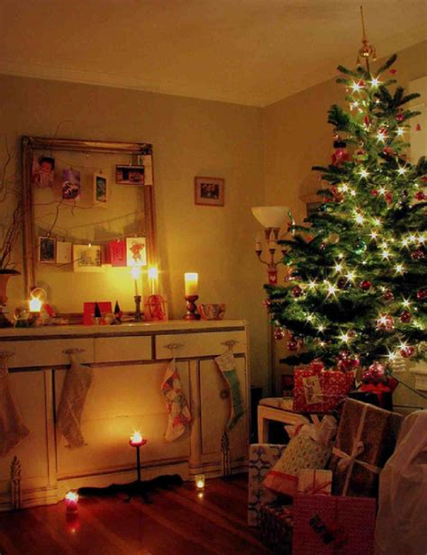 small living room christmas trees decoration decosee com