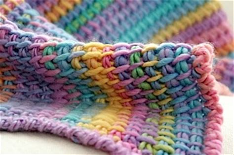 tunisian blanket knitting nuances