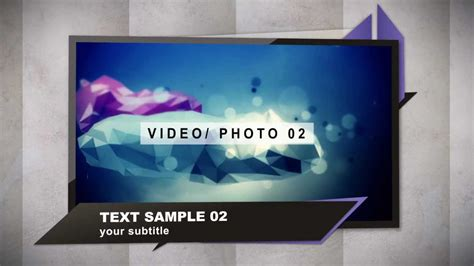 template after effects portfolio after effects templates geometric portfolio intro www
