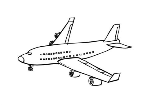 airplane coloring pages pdf 21 airplane coloring pages free word pdf jpeg png