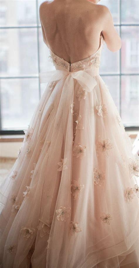 beautiful blush wedding dresses a fashion forward