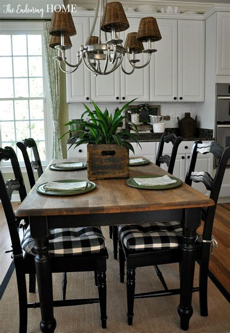 farm style kitchen tables farmhouse style kitchen table makeover