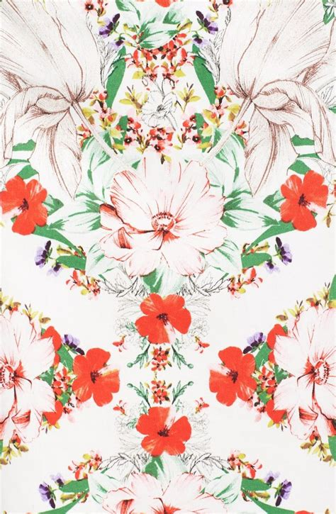 Flower Print 5159 best floral print and patterns images on