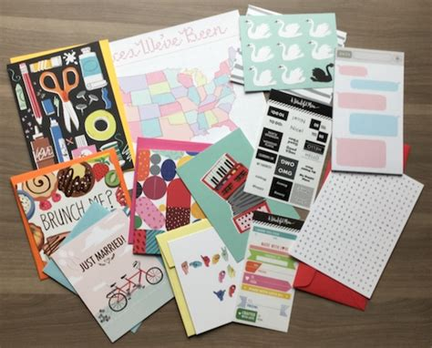 beautiful mail a beautiful mess happy mail subscription review dec 2014