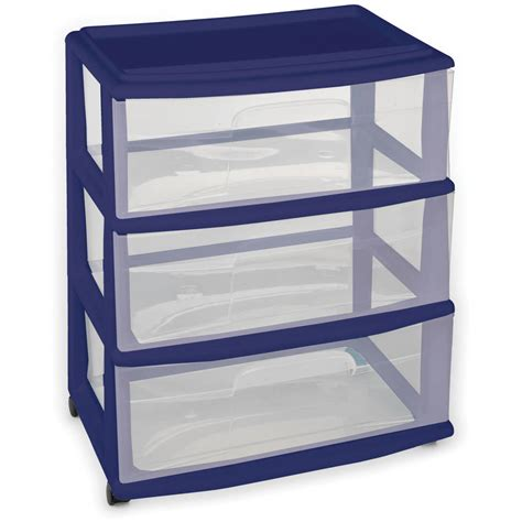 5 Drawer Plastic Storage Cart by Homz 3 Drawer Medium Cart Set Of 2 Walmart