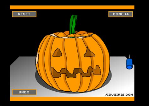 pumpkin carving games play pumpkin carving game free online at puffgames com