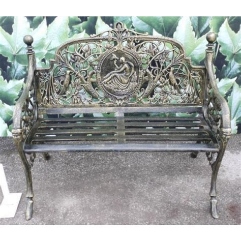 wrought iron bench uk benches garden store