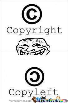 Copyright Meme - copyright by pr meme center