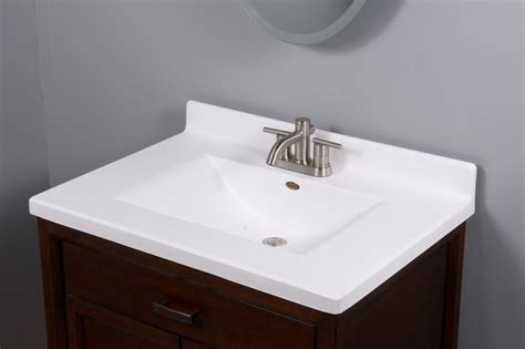 Vanity Top by Imperial Satin Vanity Top Modern Vanity Tops And
