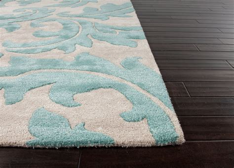 light turquoise rug