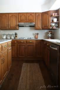5 ideas update oak cabinets without a drop of paint hardware for oak kitchen cabinets monsterlune