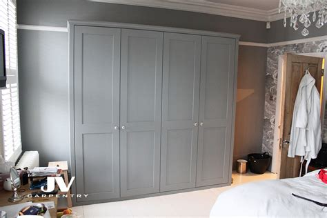 Shaker Fitted Wardrobes by Fitted Shaker Wardrobes Chiswick W4 Jv Carpentry