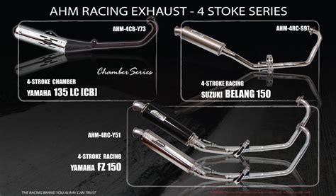 Blus Sp 110 12 palex motor parts ahm racing exhaust 4 stroke rc series