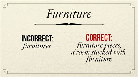 couch as a verb grammar review on confusing words singular plural or