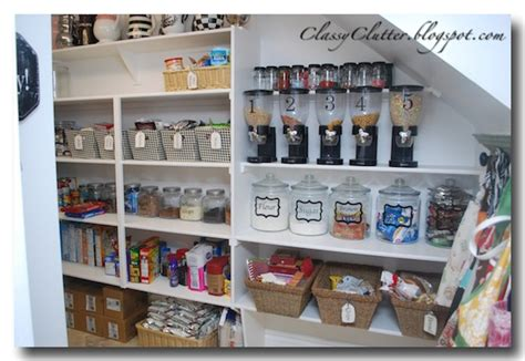 Kitchen Pantry Organization Kitchen Pantry Makeover Clutter