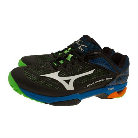 mizuno wave exceed tour 2 tennis shoes 50