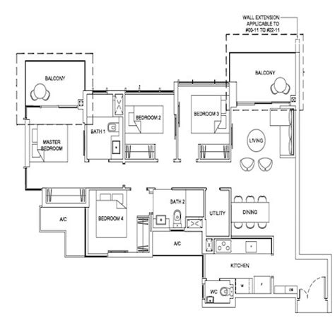 high park floor plans high park residences floor plan new launch condo
