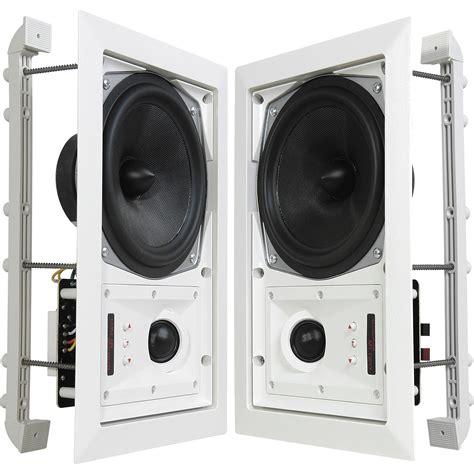 Speaker Caf Speakercraft Mt6 Two In Wall Speaker Pair Asm87620 B H Photo