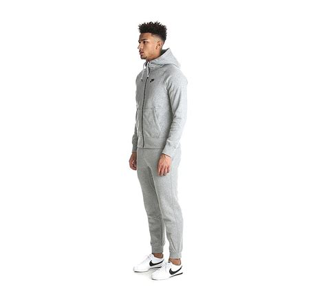 Ip28562 Sweater Nikeee Hodie Just Do It Gre nike aw77 fleece zip tracksuit grey