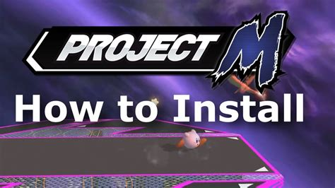 how to m how to install project m 3 5 super smash bros brawl