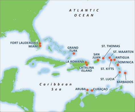 Southern Caribbean Cruises   Caribbean Cruise Deals   Carnival Cruise Lines