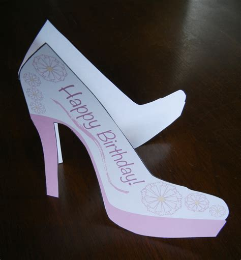 high heel shoe template for card printable high heel stencil best photos of high heel