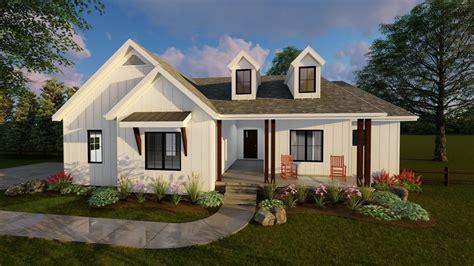 copperden modern farmhouse ranch by advanced house plans