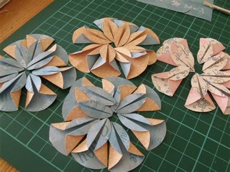 How To Make Flowers By Paper Cutting - paper flower garland cocojude