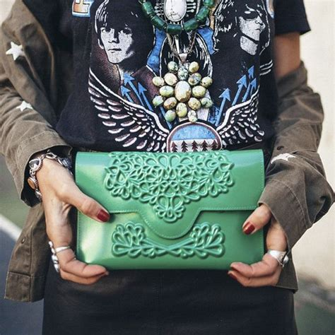 Be Lucky With A Born Lucky Clutch Bag by 17 Best Ideas About Green Clutch Bags On Green