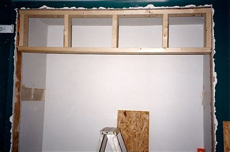Framing Sliding Closet Doors Widening A Closet Door Thumb And Hammer