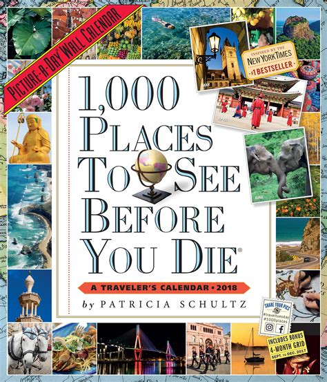 1000 places to see 1523500468 1 000 places to see before you die picture a day wall calendar 2018 patricia schultz