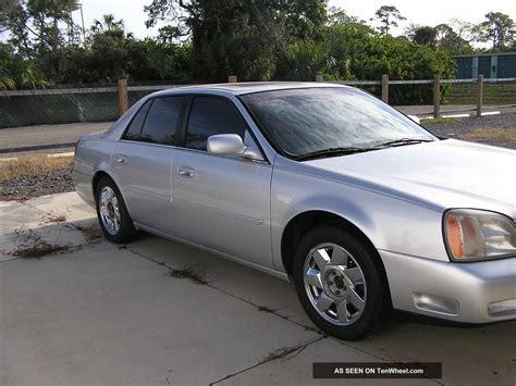 2001 cadillac dts 2001 cadillac dts four door sedan silver