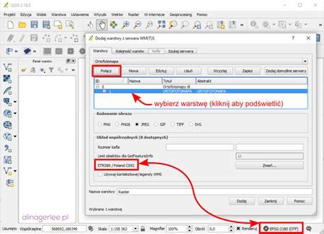 qgis tutorial wms pierwsze kroki w qgis jak dodać warstwę wms qgis tips