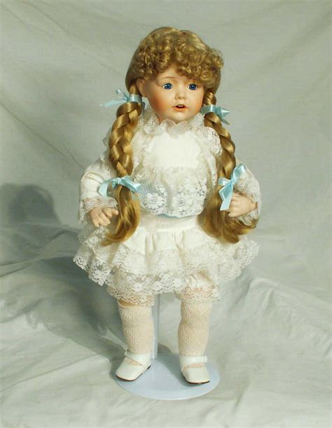 albert e price porcelain dolls albert price hayley hello dolly series porcelain doll 18